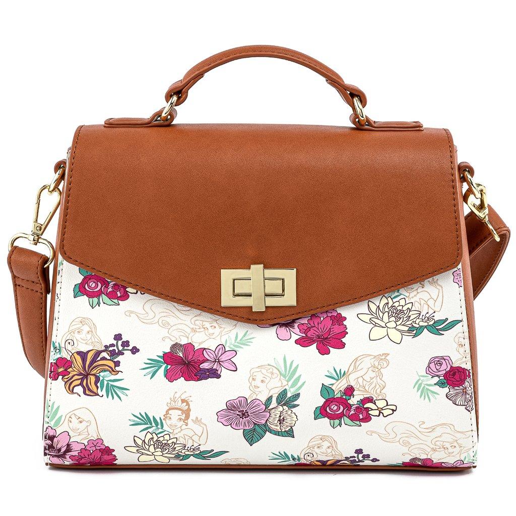 Loungefly Disney Princess Floral AOP Crossbody Bag - WDTB2032